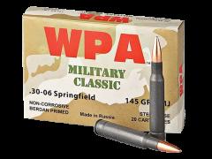 MC3006FMJ Wolf Military Classic 30-06 Springfield 145 Grain FMJ