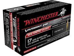 S17W20 Winchester Varmint 17 WSM 20 Grain Polymer-Tip