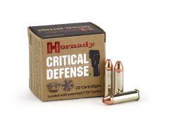 Hornady Critical Defense .38 Special 110 Grain JHP