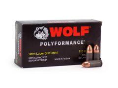 Wolf Polyformance 9mm 115 Grain FMJ