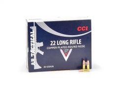CCI Tactical 22 LR 40 Grain RN Case 956-CASE