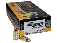 E9MMB150 Sig Sauer Elite 9mm 115 GR FMJ