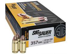 E357B150 Sig Sauer Elite Performance 357 Sig 125 Grain FMJ