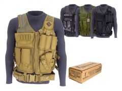 9MM-AD-TV-01-B191800092500 Browning Training & Practice 9mm 115 Grain FMJ RTAC Tactical Vest Combo