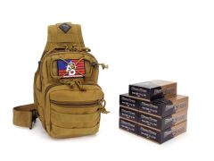 RTAC 9mm 124 Gr Tactical Sling Pack - Blazer Brass 5201