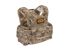 RTS-PPC-BUNDLE-Multicam RTS Tactical Premium Plate Carrier & Level III+ 10x12 Armor Plate Combo - Multicam