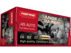 620840050 Norma 45 ACP 230 Grain FMJ