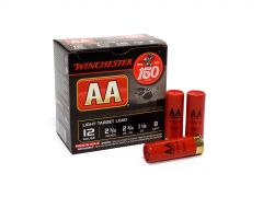"Winchester AA 12 Ga 2-3/4"" 1-1/8 Oz 8 Shot No.8 Light Target Load (Box)"