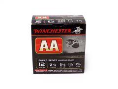 """Winchester AA 12 Ga 2-3/4"""" 1-1/8 Oz No. 7.5 Shot (Box)"""
