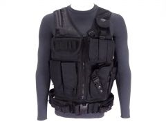 Rattlesnake Tactical Load Bearing Vest - Black