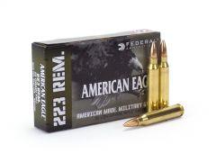 Federal American Eagle Military Grade 223 Remington 55 Grain FMJ
