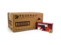 Federal American Eagle 9mm 115 Grain FMJ (Case)