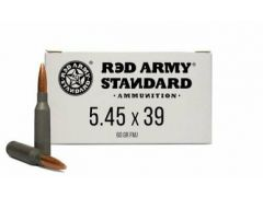 Red Army Standard 20 Rounds 5.45x39 60 Grain FMJ Ammo