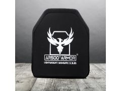 AR500 Level III Lightweight UHMWPE Body Armor 10 x 12