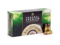 Federal Premium Ballisticlean 9mm Luger 100 Grain Frangible RHT
