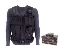 9MM-AD-TV-01-5203500-BLACK RTAC 9mm Tactical Load Bearing Vest - Blazer Brass 5203