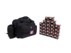 7.62X39-RTRB2-WFMJ500-BLACK RTAC 7.62x39 Small Range Bag - Wolf 762WFMJ (Black)