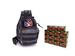 7.62X39-TACSLING-UL076201-BPYTHON RTAC 7.62x39 Tactical Sling Pack - TulAmmo UL076201 (Black Python)
