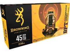 Browning Performance Target 45 ACP 230 Grain FMJ