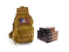 380-TACSLING-5202350 Blazer Brass 380 ACP 95 FMJ RTAC Tactical Sling Combo