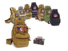 300BLK-TACSLING-300BLKFMJ1100 Wolf Polyformance 300 Blackout 145 Grain FMJ RTAC Tactical Sling Combo