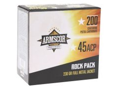 50093 Armscor Precision 45 ACP 230 Grain FMJ Bulk Rock Pack