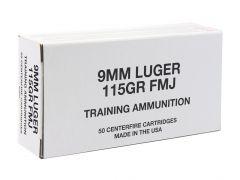 95000 Blazer Brass 9mm 115 Grain FMJ