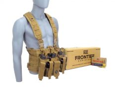 CHESTRIG-FR100500-TAN RTAC 223 Chest Rig - Frontier FR100 (Tan)