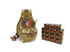 7.62X39-TACSLING-UL076201-CPCAMO RTAC 7.62x39 Tactical Sling Pack - TulAmmo UL076201 (CP Camo)