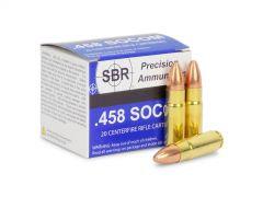 SL45858SBR-BOX 458 SOCOM 550 Grain Subsonic TCJ (Box)