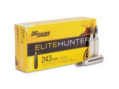E243TH2-20-BOX Sig Sauer Elite Hunter 243 Winchester 90 Grain Tipped (Box)