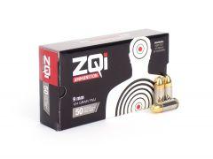 ZQI 9mm 124 Grain FMJ Steel Case - ZQI124GRST