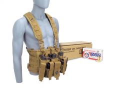 CHESTRIG-USA4172-TAN RTAC 9mm Chest Rig - Winchester USA4172 (Tan)