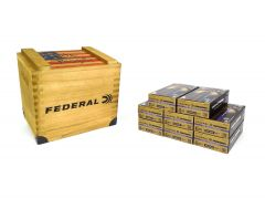 P45HST2-CRATE400 Federal Premium HST 45 ACP 230 Grain JHP - 400 Rounds in Wooden Crate