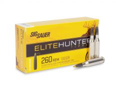 E260TH1-20 Sig Sauer Elite Hunter 260 Remington 130 Grain Tipped (Box)