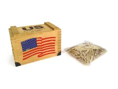 USC22355FMJ-CRATE200 US Cartridge 223 Rem 55 Grain FMJ - 200 Rounds in a Wooden Crate