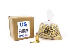 USC22362FMJSS109-200 US Cartridge 223 Remington 855 Green Tip 62 Grain FMJ