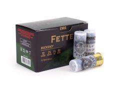 "FETTER-00-9 Fetter 12 Gauge 2.75"" 9 Pellet 00 Buck"