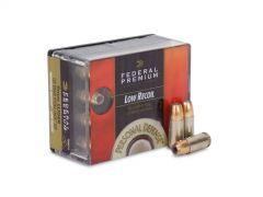 Federal Premium Hydra-Shok 9mm 135 Gr Low Recoil JHP (Box)