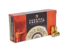 Federal Premium Gold Medal 45 ACP 185 Gr Semi-Wadcutter FMJ (Case)