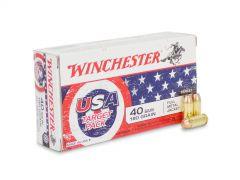 Winchester USA 40 S&W 180 Gr FMJ (Box)