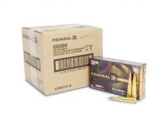 Federal Gold Medal Match 308 Winchester 168 Grain SMK BTHP (Case)