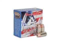 90224 Hornady American Gunner 9mm 124 Grain +P XTP HP (25 Round Box)