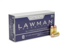 53658 Speer Lawman 45 ACP 230 Gr Flat Nose TMJ