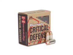 90063 Hornady Critical Defense 32 ACP 60 Gr FTX Box