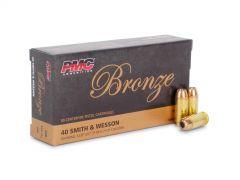PMC40B-BOX PMC Bronze 40 S&W 165 Grain JHP (Box)