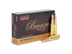 308SP-BOX PMC Bronze 308 Winchester 150 Grain PSP (Box)