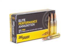 E223B1-20-BOX Sig Sauer 223 Remington 55 Grain Elite Performance FMJ (Box)