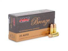 PMC25A-BOX PMC Bronze 25 Auto 50 Grain FMJ (Box)