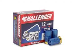 "60007-BOX Challenger Super ShortShell 12 Gauge 1-3/4"" 5/8oz #7-1/2 Shot (Box)"